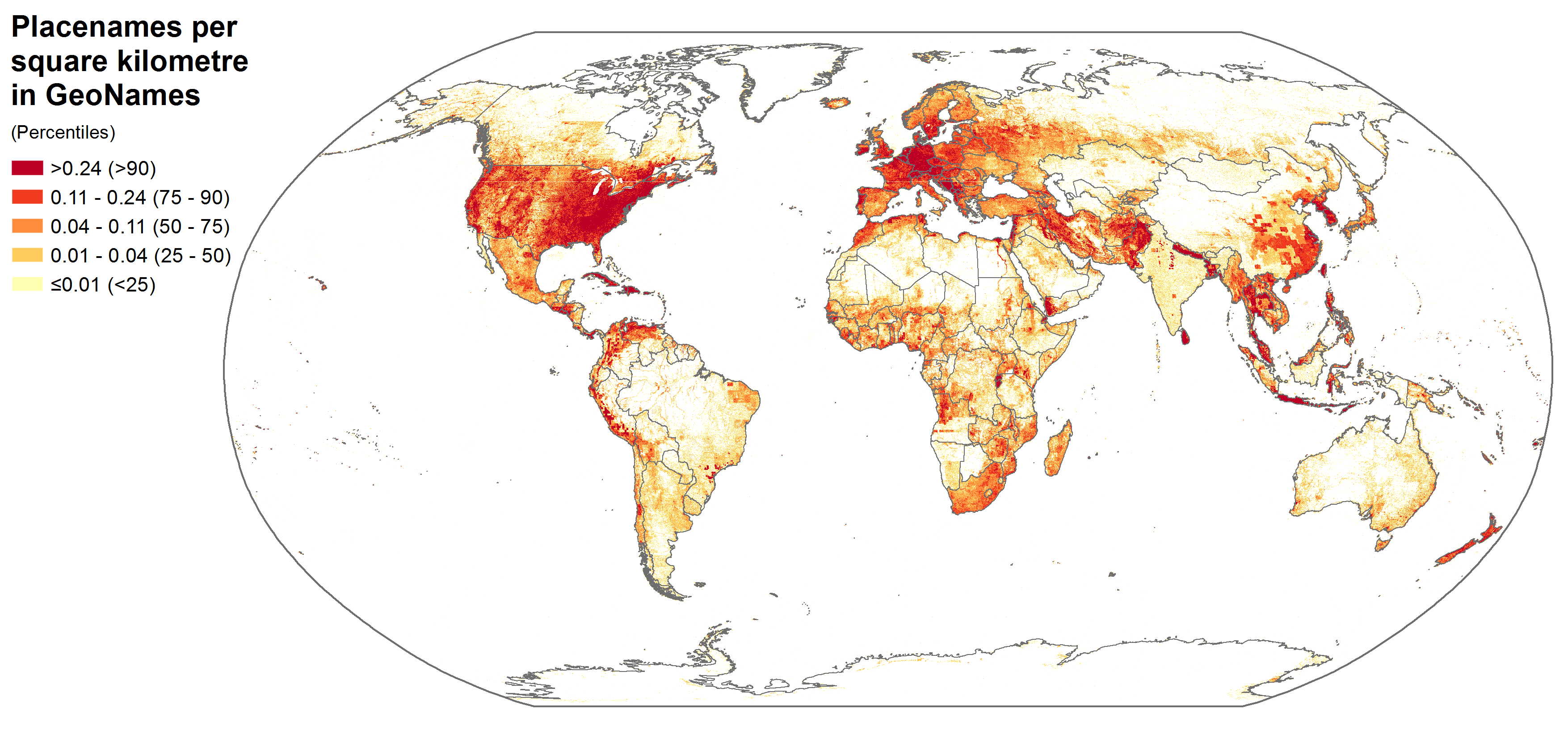 New paper – Mapping Information Wealth and Poverty: The Geography on