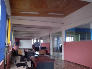 Like in other hubs, iSpace members work in an open co-working space