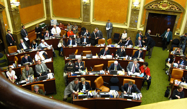 House chamber of the Utah State Legislature