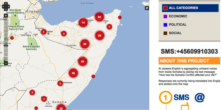 Somalia Crisis Map