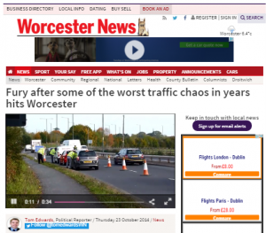 worcester-news-traffic-survey-chaos