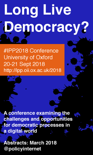 Long Live Democracy? IPP Conference 2018
